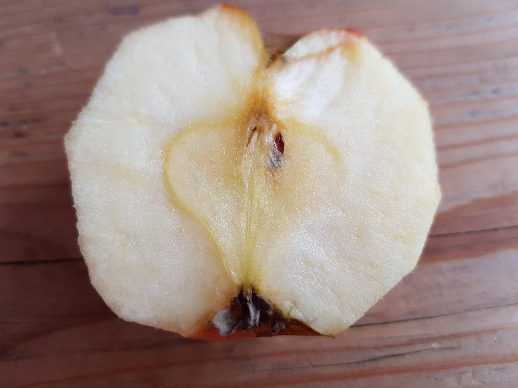 Appel, het hart